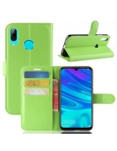 Oldalra nyíló tok Huawei P30 Lite telefonhoz - ZÖLD
