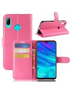 Oldalra nyíló tok Huawei P30 Lite telefonhoz - RÓZSASZÍN