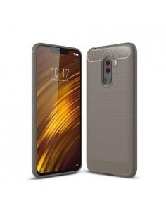 Xiaomi Pocophone F1 karbon mintás tok - SZÜRKE