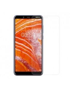 Kijelzővédő karcálló edzett üveg Nokia 3.1 Plus típusú telefonhoz