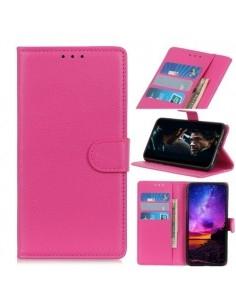 Oldalra nyíló tok Samsung Galaxy A20e telefonhoz - PINK