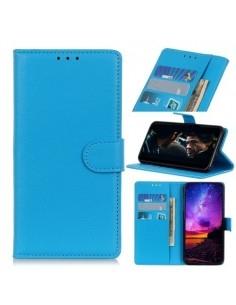 Oldalra nyíló tok Samsung Galaxy A20e telefonhoz - KÉK