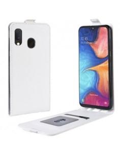 Flip tok Samsung Galaxy A20e telefonhoz - FEHÉR
