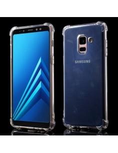 Rugalmas TPU tok Samsung Galaxy A8 (2018) készülékhez - ÁTTETSZŐ