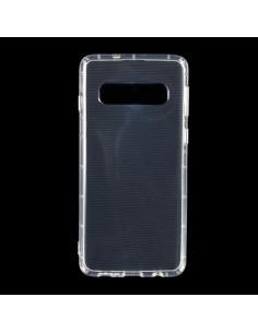 Rugalmas TPU tok Samsung Galaxy S10 készülékhez - ÁTTETSZŐ