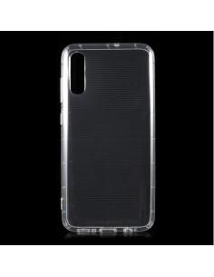 Rugalmas TPU tok Samsung Galaxy A70 készülékhez - ÁTTETSZŐ