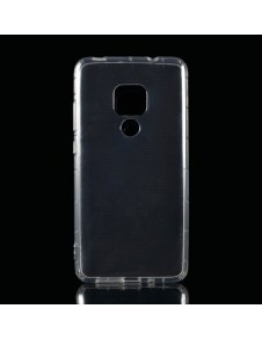 Rugalmas TPU tok Huawei Mate 20 készülékhez - ÁTTETSZŐ