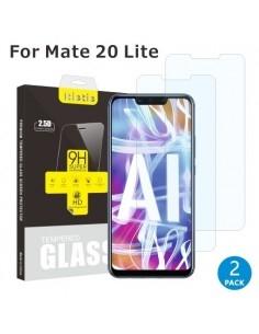Kijelzővédő karcálló edzett üveg Huawei Mate 20 Lite típusú telefonhoz - 2 db