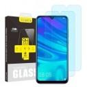 Kijelzővédő karcálló edzett üveg Huawei P Smart (2019) típusú telefonhoz - 2 db