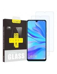 Kijelzővédő karcálló edzett üveg Huawei P30 Lite típusú telefonhoz - 2 db