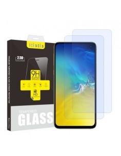 Kijelzővédő karcálló edzett üveg Samsung Galaxy S10e típusú telefonhoz - 2 db