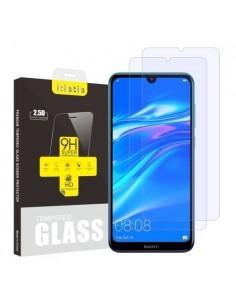Kijelzővédő karcálló edzett üveg Huawei Y7 (2019) típusú telefonhoz - 2 db