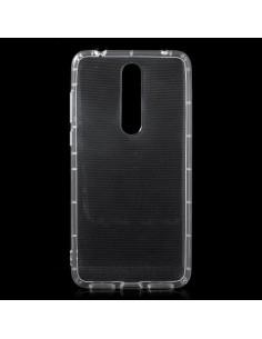 Rugalmas TPU tok Nokia 3.1 Plus készülékhez - ÁTTETSZŐ