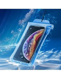 BASEUS univerzális vízálló telefontok - Méret: 19.7x10.5 cm - KÉK