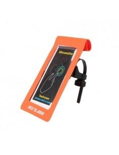 GUB kerékpár kormányra rögzíthető vízhatlan telefon tartó max. 6 colos készülékekhez - NARANCS