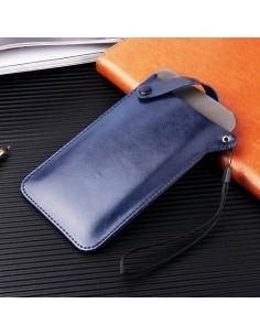Univerzális zárható telefontok 16.5 x 9 cm - KÉK
