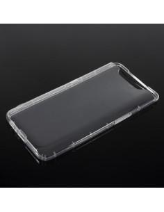 Rugalmas TPU tok Samsung Galaxy A80 / A90 készülékhez - ÁTTETSZŐ