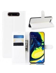 Oldalra nyíló tok Samsung Galaxy A80 / A90 telefonhoz - FEKETE