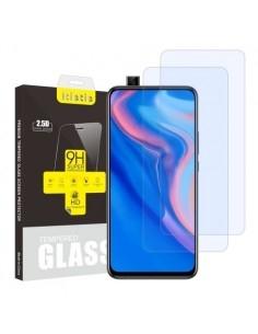 Kijelzővédő karcálló edzett üveg Huawei P Smart Z típusú telefonhoz - 2 db