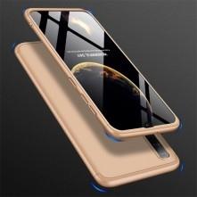 GKK három részes tok Samsung Galaxy A50 készülékhez - ARANY