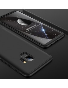 GKK három részes tok Samsung Galaxy S9 készülékhez - FEKETE