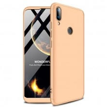 GKK három részes tok Huawei Y9 (2019) készülékhez - ARANY