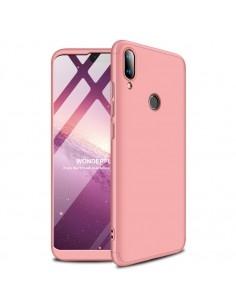 GKK három részes tok Huawei Y9 (2019) készülékhez - RÓZSAARANY