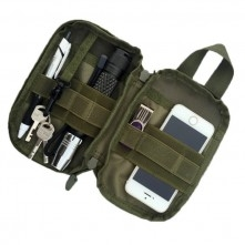 1000D vízhatlan taktikai övtok mobiltelefon, kulcs, zseblámpa stb. tárolására - KEKI