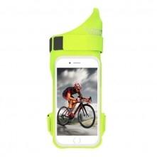 FLOVEME csuklóra csatolható tok futáshoz, sportoláshoz - 5.5 inch - ZÖLD