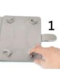 Univerzális 10 inches kitámasztható tablet tok - UNIVERZUM