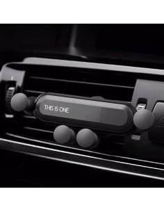 Autó szellőzőre rögzíthető telefontartó dokkoló - SZÜRKE