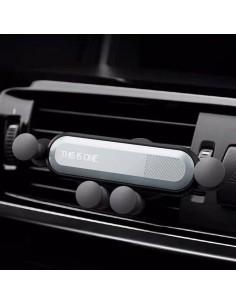Autó szellőzőre rögzíthető telefontartó dokkoló - EZÜST