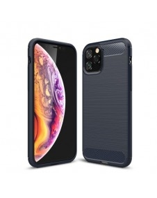 Apple Iphone 11 Pro karbon mintás tok - KÉK