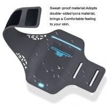 Ultra vékony karra csatolható tok futáshoz - 4.7 colos - FEKETE