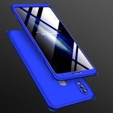 GKK három részes tok Huawei Honor Note 10 készülékhez - KÉK