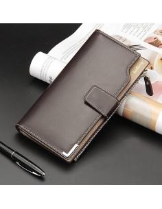 Baellerry telefontartó pénztárca karpánttal 19x10.5x2 cm - BARNA