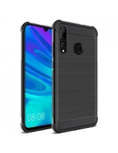 IMAK Vega karbon mintás ütésálló tok Huawei P Smart+ 2019 / Enjoy 9s/ Maimang 8 / nova 4 lite / Honor 10i készülékhez - FEKETE