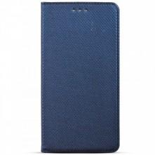 Samsung Galaxy A51 mágneses szilikon keretes könyvtok - KÉK