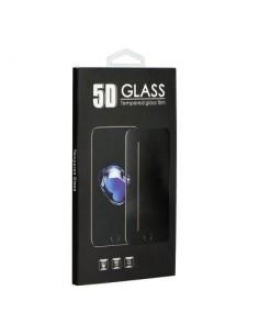 Full glue Samsung Galaxy A71 fekete hajlított 5D előlapi üvegfólia