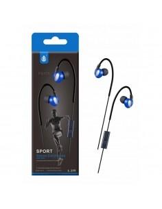 OnePlus P5171 fekete-kék csomagolt stereo sport headset