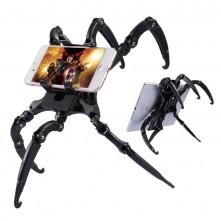 Univerzális mobiltelefon, táblagép pók állvány - FEKETE