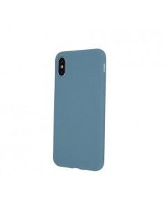 Rugalmas matt TPU tok Samsung Galaxy A51 készülékhez - VILÁGOSKÉK