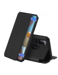 DUX DUCIS Skin X telefontok Samsung Galaxy A21s készülékhez - FEKETE