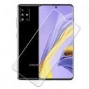 Kijelzővédő karcálló edzett üveg Samsung Galaxy A51 típusú telefonhoz