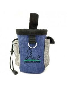 QS-001 kutyasétáltató táska vízhatlan anyagból - Derékra csatolható - KÉK