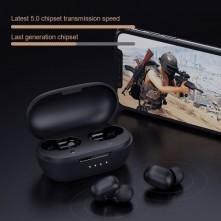 XIAOMI HAYLOU GT1 Pro HD sztereó vezeték nélküli fülhallgató - FEKETE