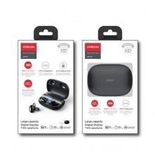 JOYROOM TWS Bluetooth vezeték nélküli fülhallgató - FEKETE