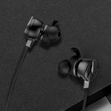 Baseus fülhallgató, GAMO H15, mini jack, vezetékes, vezérlővel, NGH15-01 - FEKETE