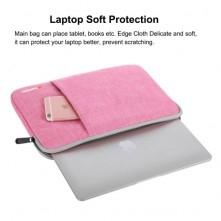 HAWEEL univerzális vízhatlan, ütéselnyelő tok max. 13 colos laptop / notebook készülékekhez - PINK