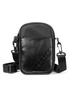 WEIXIER 8642 vállra és övre is akasztható, táska - 18 x 12 x 5 cm - FEKETE